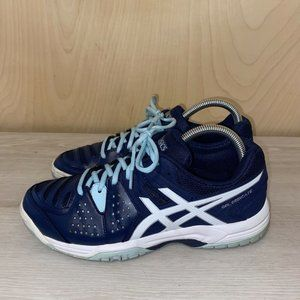 Asics Gel-Dedicate E557Y Athletic Shoes Blue